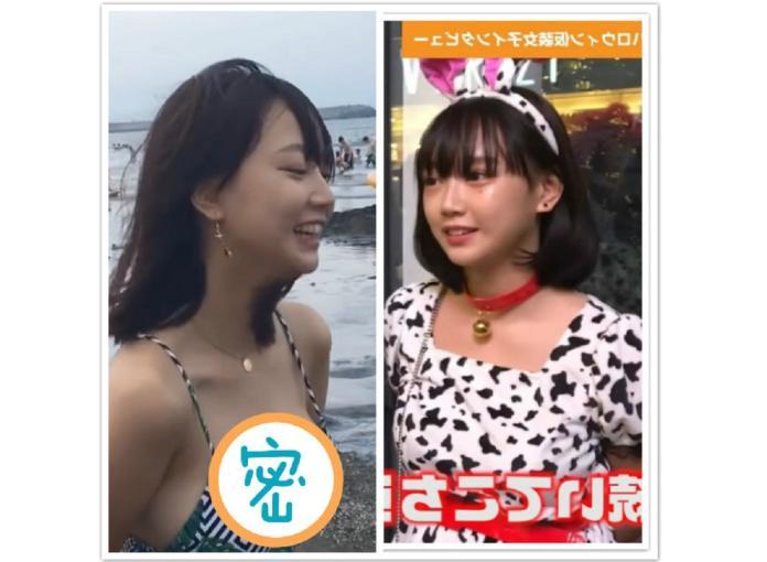 ▲日本學生妹辣穿比基尼!「胸前美景」超不科學,眾男士嗨翻。(圖/翻攝自PTT)