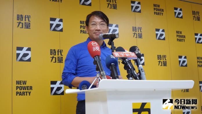 ▲立委徐永明接任時代力量黨主席。(圖/記者呂炯昌攝, 2019.8.21)