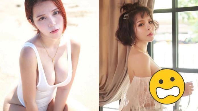 ▲陳香菱自曝沒穿內衣拍照。(圖/翻攝臉書)