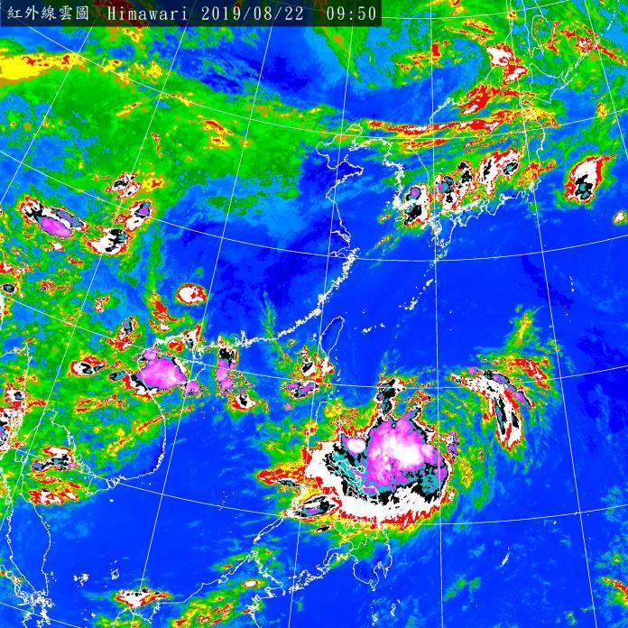白鹿颱風增強直撲台灣 周五陸海警齊發、周六防狂風暴雨