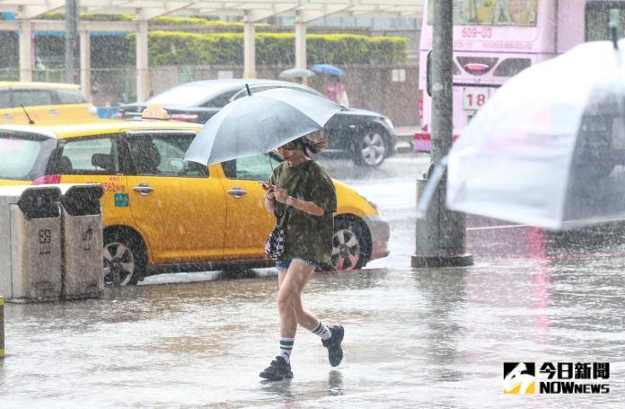 ▲米塔颱風週一影響台灣最劇烈。(圖/ NOWnews 資料庫)