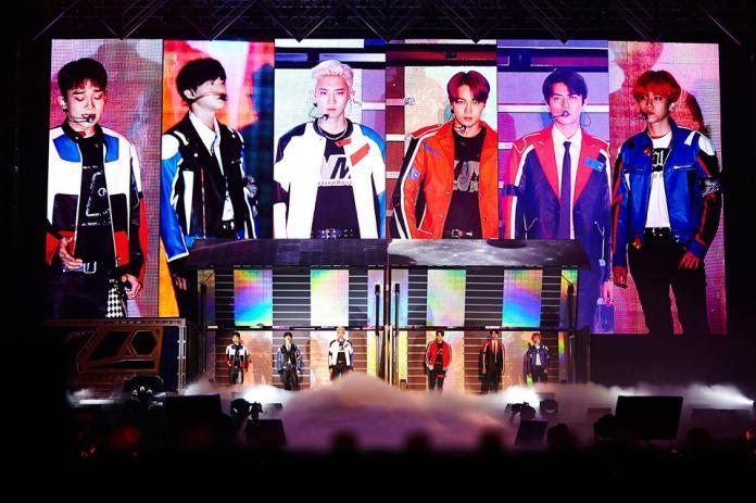▲台灣歌迷為了看EXO,表示想用初夜換取門票。(圖/EXO臉書)