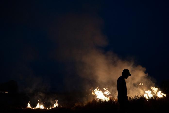 ▲亞馬遜雨林遭大火嚴重吞噬。(圖/美聯社/達志影像)