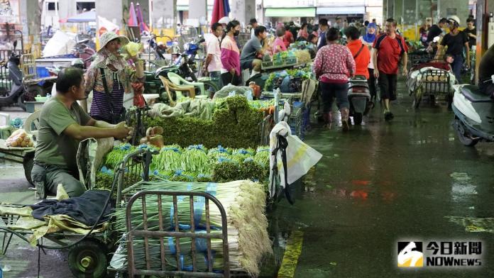 影/葉菜類市場批發創天價 連續豪雨受損嚴重復耕難