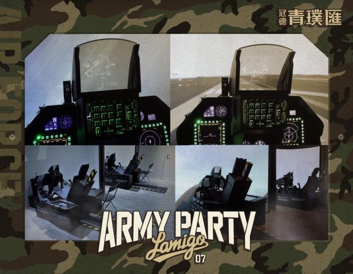 中華職棒/把戰機搬到<b>全猿主場</b> Lamigo飛行模擬艙啟航