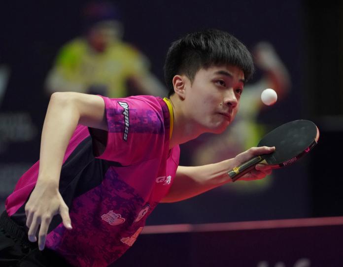 桌球/盛讚林昀儒 7屆歐洲冠軍:他很快且危險