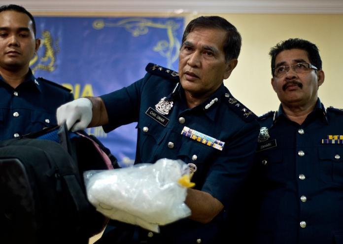 馬來西亞破獲有史以來最大宗毒品案 估值1.61億美金