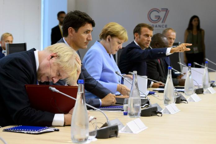 G7落幕!各國領袖挺港<b>自治</b> 重申《中英聯合聲明》重要性