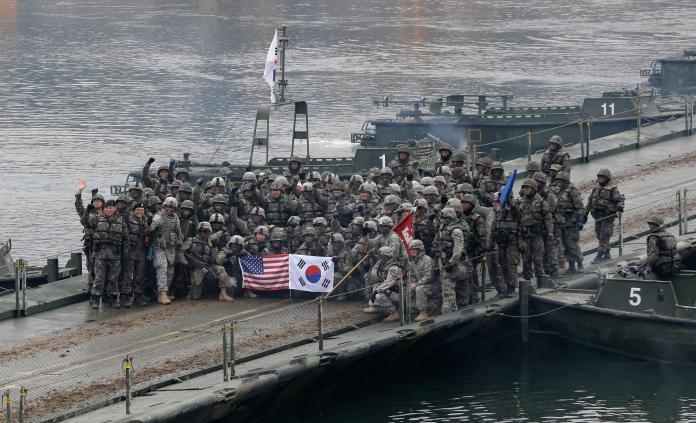 川普G7峰會批美韓聯合軍演「浪費錢」 韓媒:原因有二