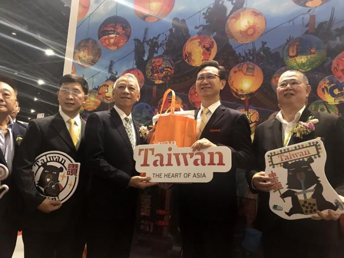 夯臺灣!泰國國際旅展 台灣館最受泰國民眾青睞