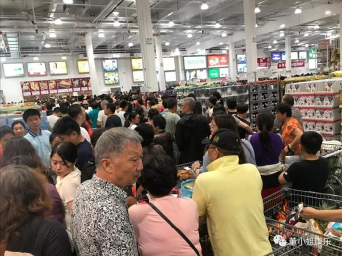 上海好市多開幕一週爆退卡潮!員工忙到沒吃飯 主因曝光