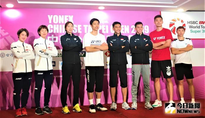 羽球/台北羽賽明天開戰 周天成誓言要打到最後一天