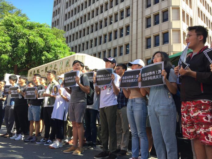 東華學生傳香港反送中被捕 學生團體疾呼:一個都不能少