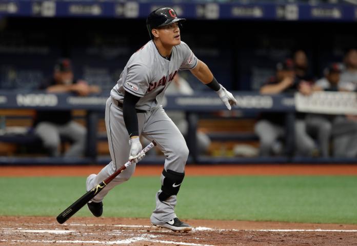 MLB/<b>張育成</b>代打獲保送 開啟「選球眼」模式