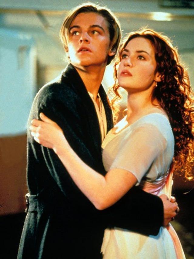 <br> ▲李奧納多與凱特溫絲蕾在《鐵達尼號》愛得你死我活,戲外卻不來電。(圖/取自Dailymail)