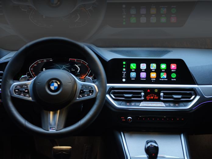 ▲直覺且人性化的iDrive7.0全數位虛擬座艙,結合12.3吋虛擬數位儀錶與10.25吋中控觸控螢幕。(圖/業者提供)