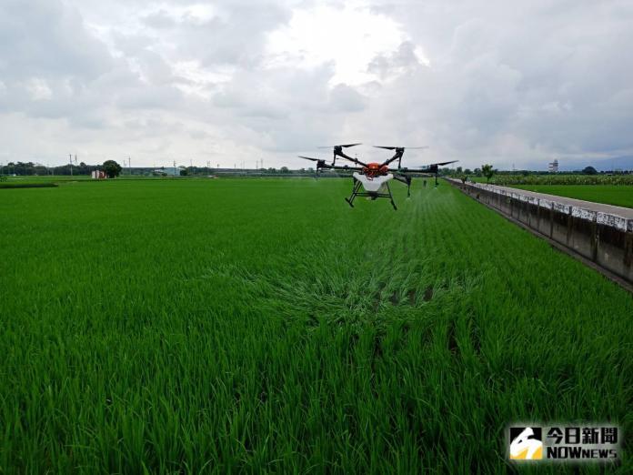 無人機噴農藥省工省時 解決人力老化<b>缺工</b>問題