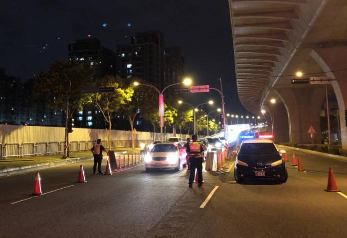 中市高強密度取締酒駕 7日起加強路檢勤務