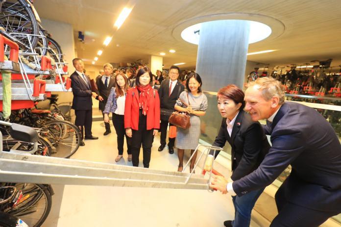 城市外交新頁 盧秀燕與荷蘭烏特勒支市簽署MOU