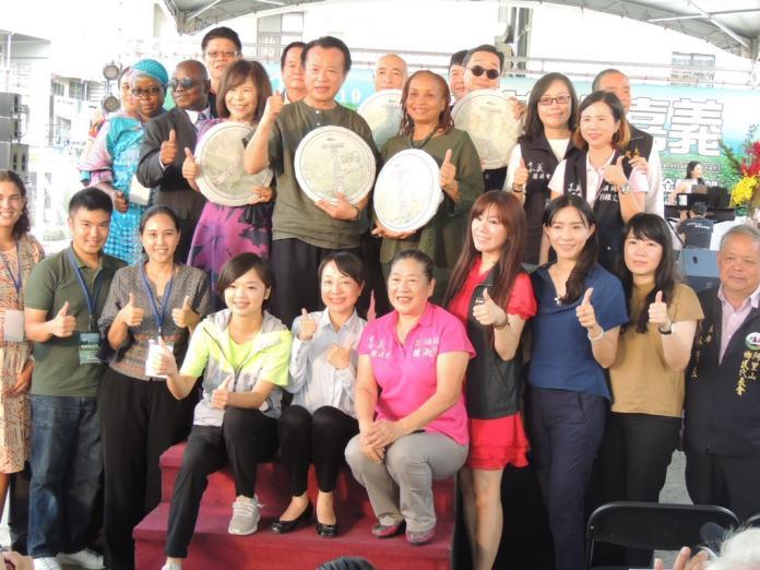 中埔金蘭首辦世界搏茶會開幕 展期十天連接中秋假期