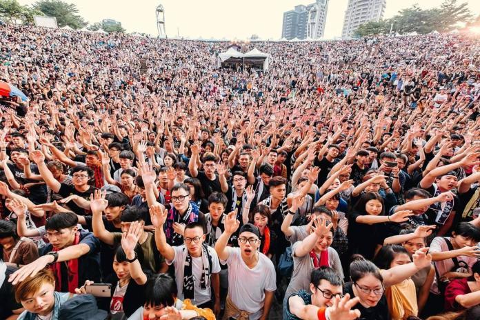 茄子蛋樂團壓軸開唱 搖滾台中首日破4萬人次創新紀錄