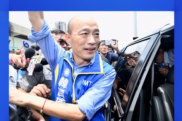 國民黨總統參選人韓國瑜。( 圖 / NOWnews資料照 )