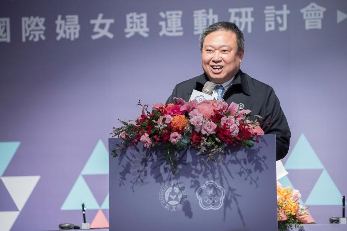 ▲中華奧會林鴻道主席表示,希望透過體育運動,讓台灣和聖露西亞可以有更緊密的交流。 (圖/中華奧會提供)