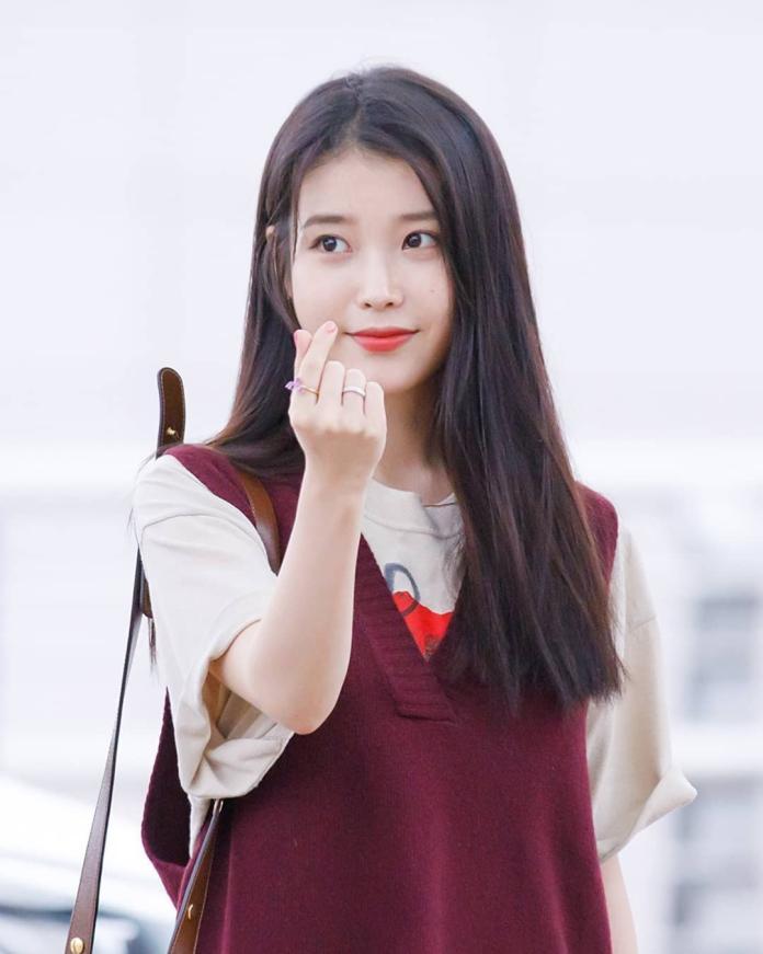 <br> ▲韓國知名女星「李知恩」被稱作是「國民妹妹」。(圖/取自 IU IG )