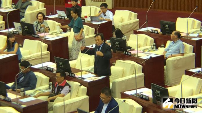 ▲民進黨台北市議員王世堅。(圖/記者丁上程攝, 2019.9.11)