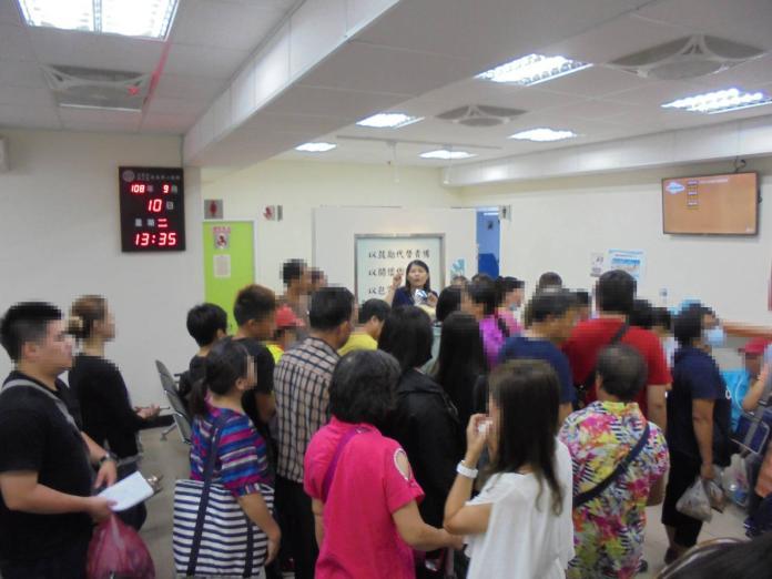 <br> ▲許多收容人家屬參加中秋懇親活動。(圖/台南第二監獄提供)
