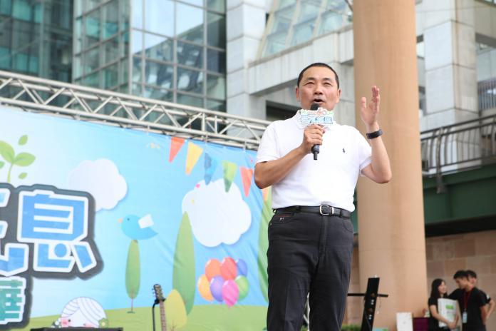 ▲侯友宜表示,郭台銘是一個在經濟表現非常傑出的企業家,離開了令人非常惋惜。(圖/資料照)