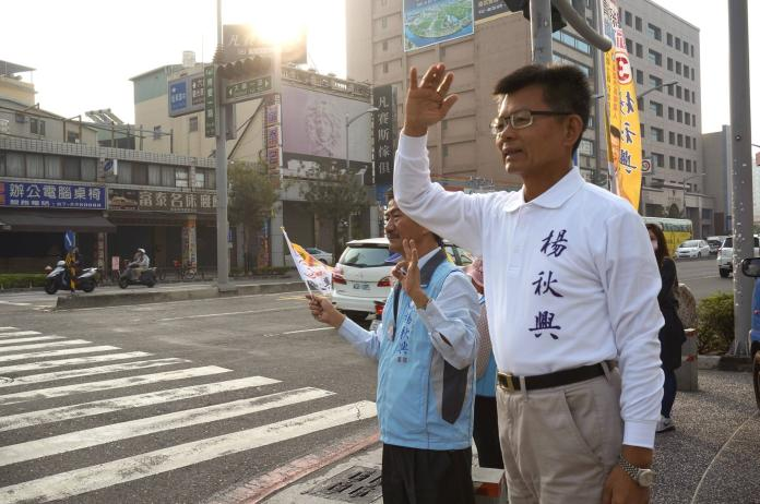 「團結啼笑皆非」!<b>楊秋興</b>嗆韓國瑜 自爆與馬英九通電話