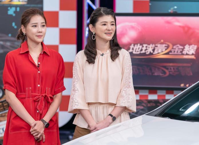 TVBS《地球黃金線》主持人蘇宗怡和來賓嚴立婷 (2)