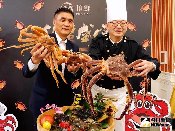 <br> ▲蟳味蟹宴採用海內外特色蟹種。(圖/記者陳美嘉攝)