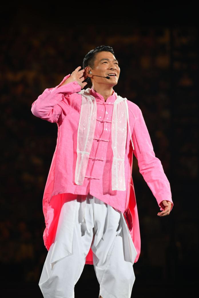 ▲劉德華在大馬舉辦演唱會。(圖/台灣映藝提供)