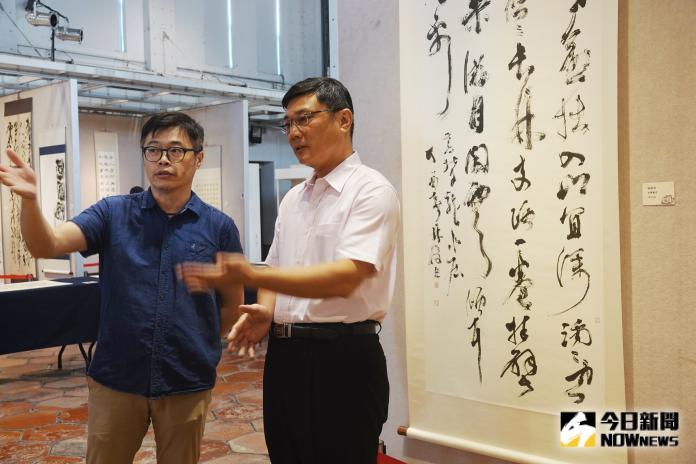 影/相忘於江湖 林俊臣暨默成書友書法聯展