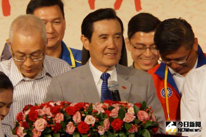 <br> 前總統馬英九。(圖/記者呂炯昌攝)