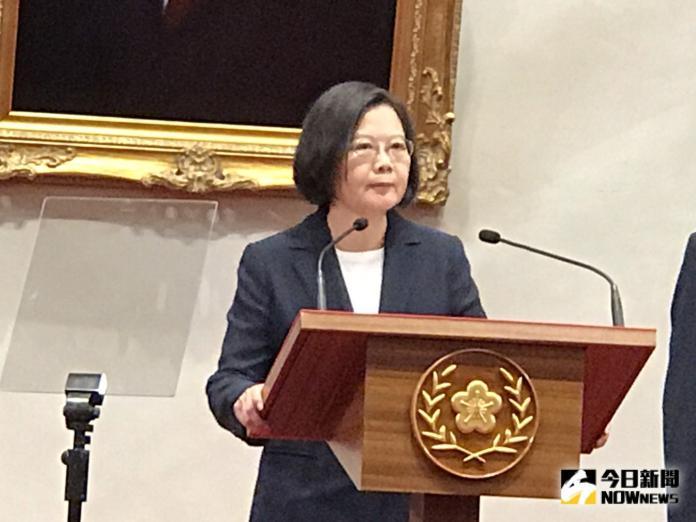 影/索國斷交!蔡英文:台灣不會任人予取予求
