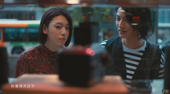 <br> ▲〈說好不哭〉MV主角討論度高。(圖/翻攝YouTube)