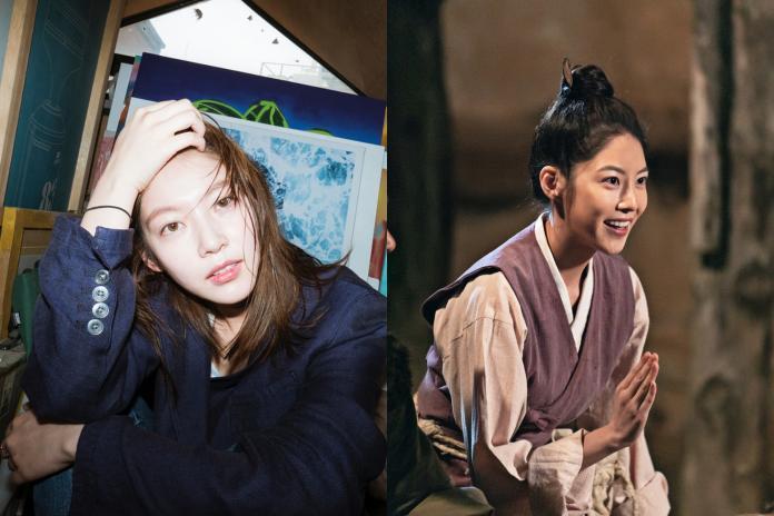 ▲TWICE成員定延的親姊姊孔升妍在劇中女扮男裝。(圖/friDay影音、孔升妍IG)