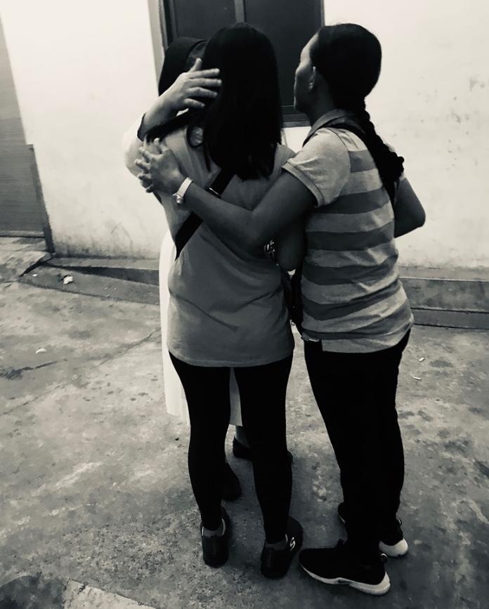 <br> ▲如今,Deserie的妹妹和姐姐只想將遺體送回菲律賓,沒想到,回家的路,如此艱難。(圖/翻攝自TIWA台灣國際勞工協會)