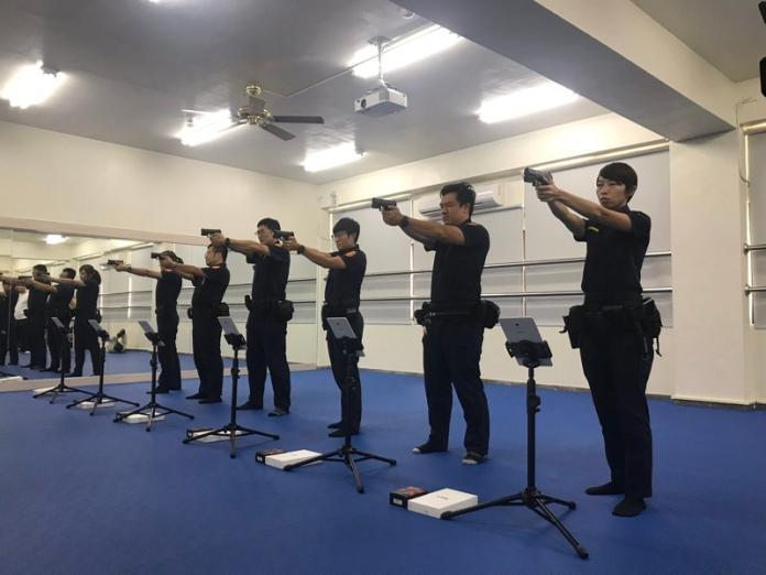 台中旱溪媽祖神助警局成立戰技館 健身打靶ALL IN ONE