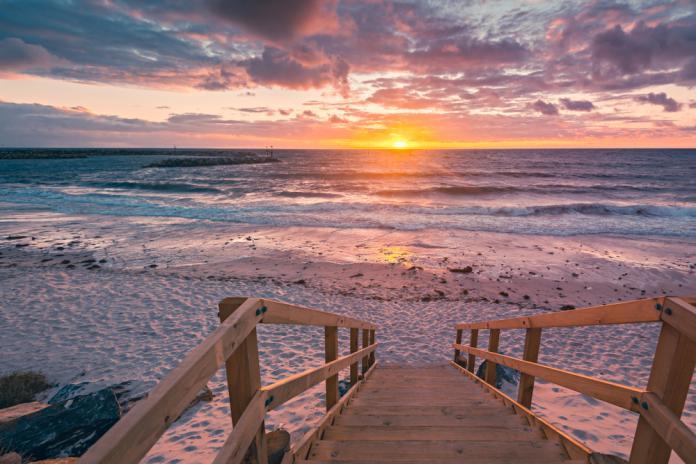 <br> ▲阿德雷德的海邊,被譽為澳洲最友善的城市。(圖/Shutterstock)