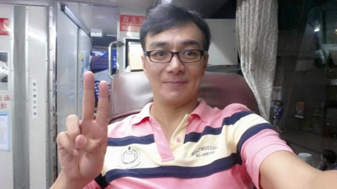 <br> ▲馬妞與馮光榮離婚17年。(圖/翻攝臉書)