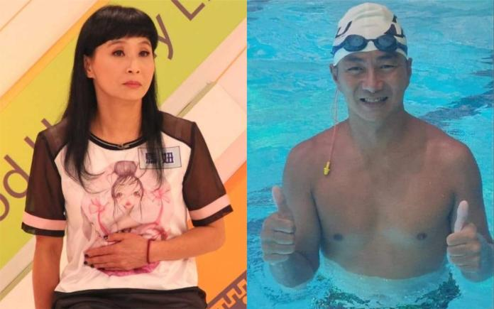 ▲馬妞(左圖)、馮光榮2002年離婚。(圖/資料照、翻攝臉書)