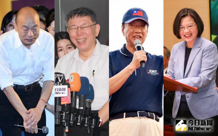 郭台銘宣布不選、柯文哲險登記 持續排擠蔡韓網路聲量?