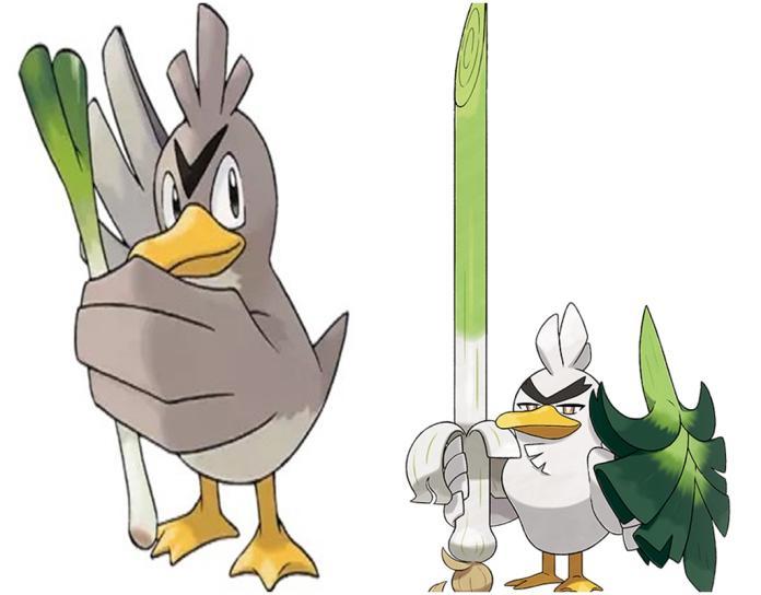 <br> ▲寶可夢大蔥鴨可以進化成蔥游兵。(圖/翻攝網路)