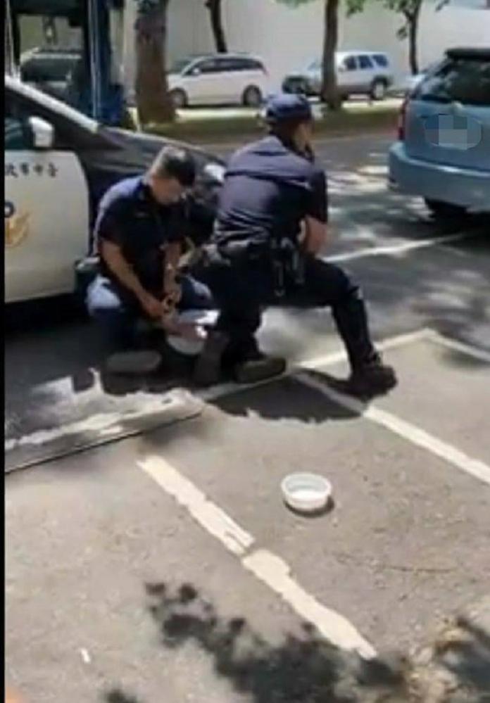 法非移工接駁車遭警攔 車內6嫌奪門狂竄