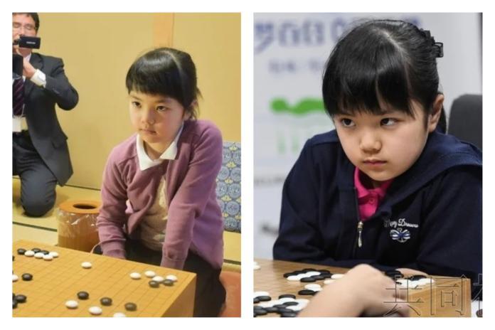 ▲史上最年輕的職業圍棋士仲邑堇,今年才 10 歲,但她下棋時的氣場超強,被網友封為「死亡之瞪」。(圖/翻攝自 9GAG 網站)