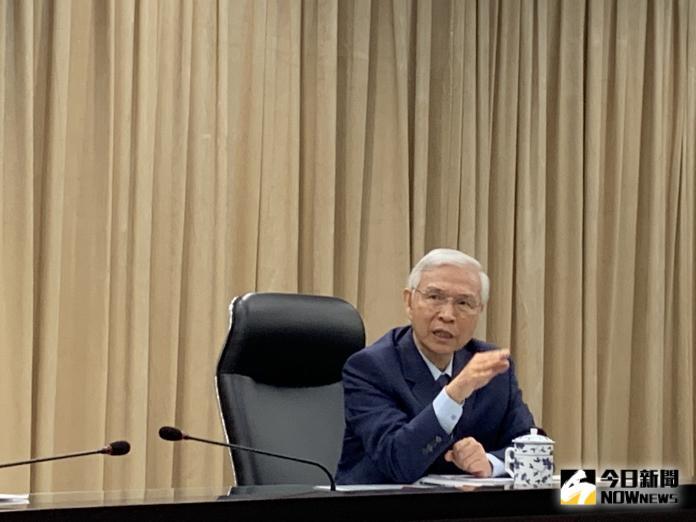 ▲中央銀行總裁楊金龍。(圖/記者顏真真攝)